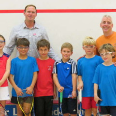 Junior Fun Squash Tournament, David Lloyd Ringwood