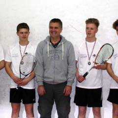 Dorset U17 Boys Medal Presentation