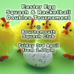 Easter Squash & Racketball Doubles Tournament