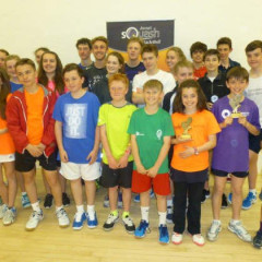 End of Season Junior County Squash Tournament and Presentation