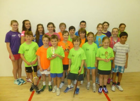 Results from Junior Tournament on 29th May 2016