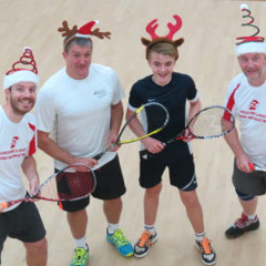 2 Riversmeet Annual Christmas Handicapped Squash/Racketball Tournament Report
