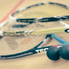 Try Squash/Racketball and burn 600 calories in 45 minutes!