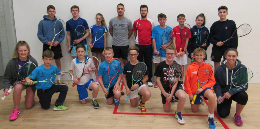 Daryl Selby, Peter Barker and the juniors