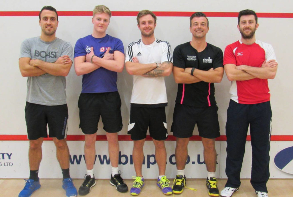 Peter Barker, Phil Sargeant, Gus Bell, Nick Macey & Daryl Selby