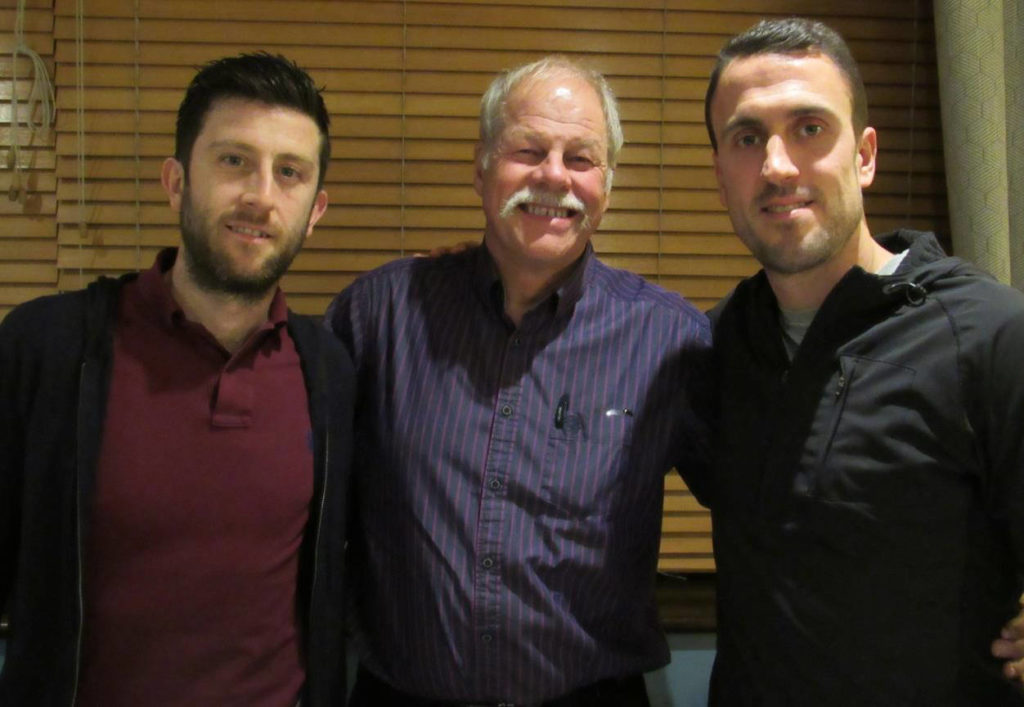 Daryl Selby, Mike Annen & Peter Barker