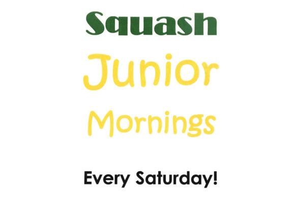 Canford Real Tennis and Squash Junior Mornings