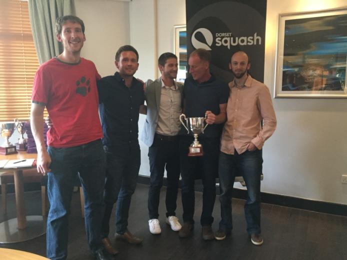 2017 Division 1 Squash Winners JP Blandford