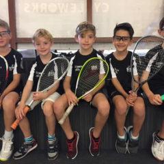 Dorset Junior Squash County Closed: THREE SIBS SHARE FIRST DIBS!