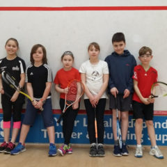 January's Junior Fun Squash Tournament at Bournemouth Sports