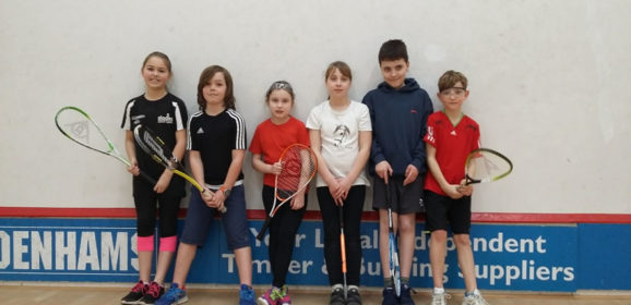 Jan Junior Fun Tournament at Bournemouth Squash Club Report