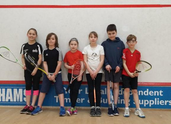 January's Junior Fun Squash Tournament at Bournemouth Sports