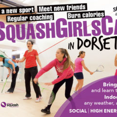 Successful Squash Girls Can in Dorset Session 1 – 2 Feb 2019