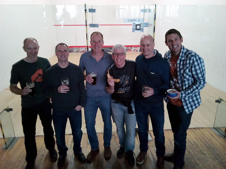 ICC Men's Over 50's Squash Team Photo March 2019
