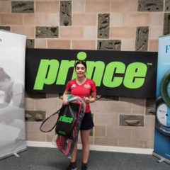 Amy Campbell-Wynter Winner of recent Girls U15's Gold event in Surrey!